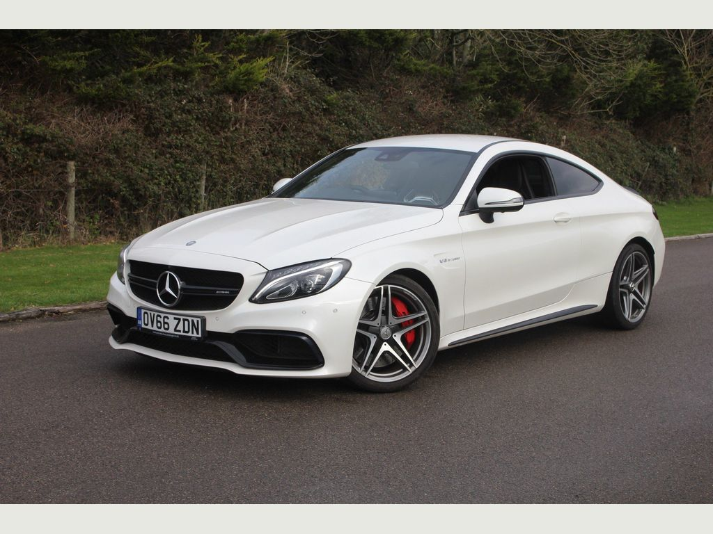 Mercedes-Benz C Class Coupe 4.0 C63 V8 BiTurbo AMG S SpdS MCT (s/s) 2dr