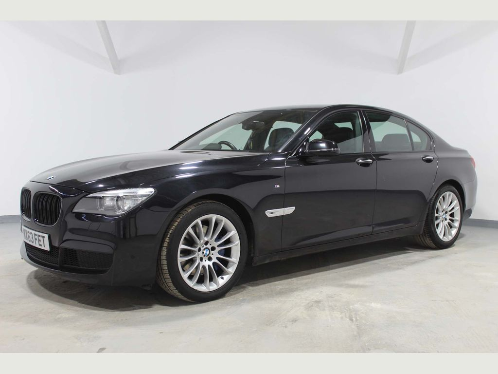 BMW 7 Series Saloon 3.0 740i M Sport (s/s) 4dr