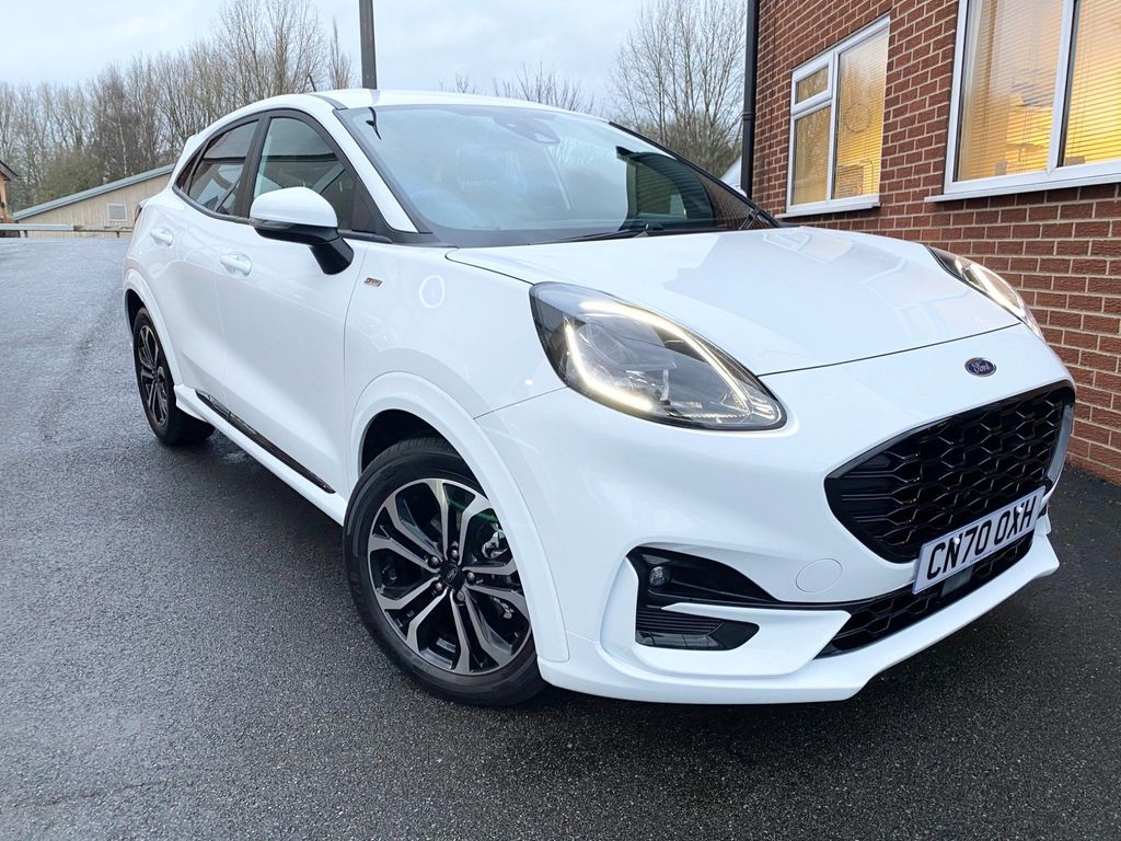 Ford Puma SUV 1.0T EcoBoost MHEV ST-Line (s/s) 5dr