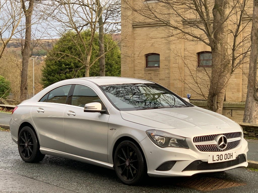 Mercedes-Benz CLA Class Coupe 2.1 CLA220 CDI Sport COMAND 7G-DCT 4MATIC (s/s) 4dr