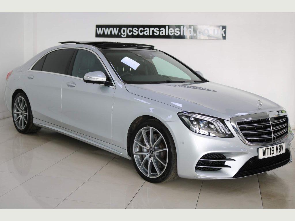 Mercedes-Benz S Class Saloon 3.0 S350L d AMG Line (Executive, Premium Plus) G-Tronic+ (s/s) 4dr