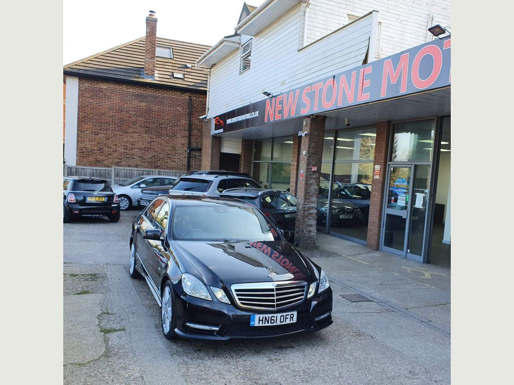 Mercedes-Benz E Class Saloon 2.1 E250 CDI BlueEFFICIENCY Sport Edition 125 G-Tronic (s/s) 4dr