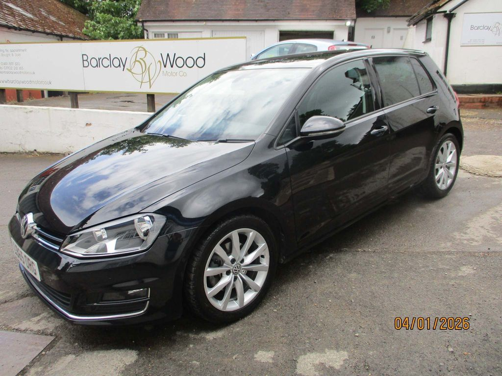 Volkswagen Golf Hatchback 1.4 TSI BlueMotion Tech ACT GT DSG (s/s) 5dr