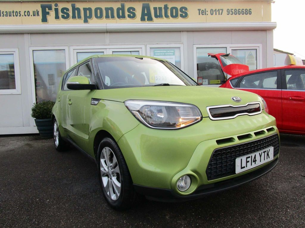 Kia Soul Hatchback 1.6 CRDi Connect Plus 5dr