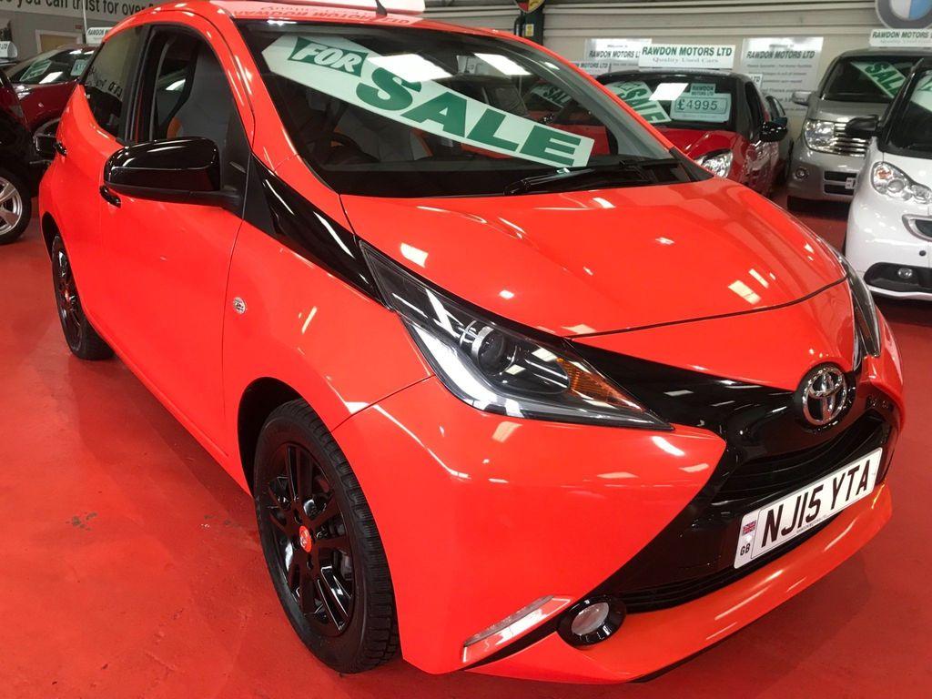 Toyota AYGO Hatchback 1.0 VVT-i x-cite 5dr EU5