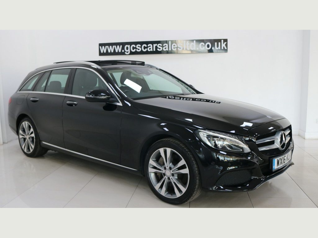 Mercedes-Benz C Class Estate 2.0 C350e 6.4kWh Sport (Premium) G-Tronic+ (s/s) 5dr 18in Alloy