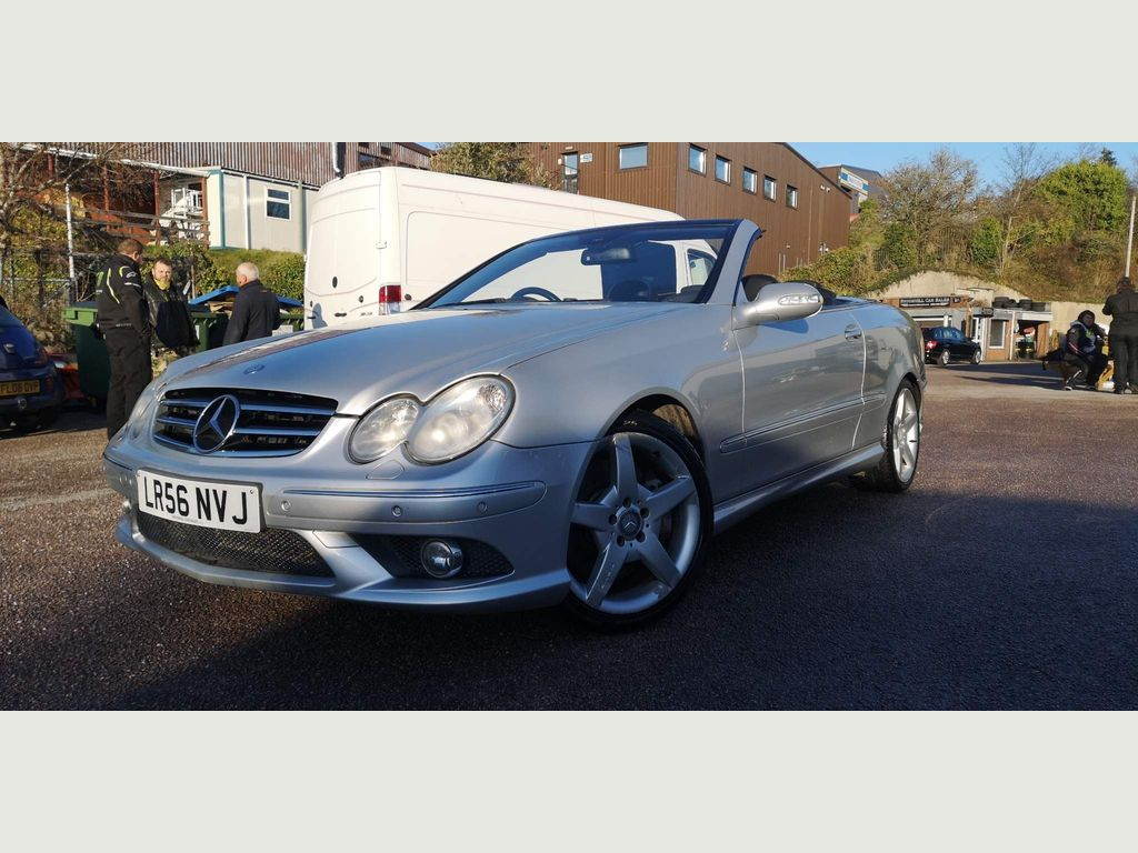 Mercedes-Benz CLK Convertible 3.5 CLK350 Sport Cabriolet 7G-Tronic 2dr
