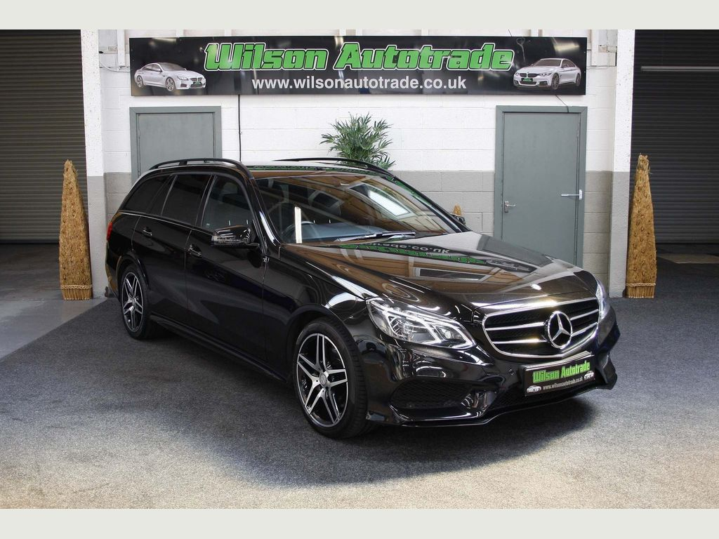 Mercedes-Benz E Class Estate 2.1 E250 CDI AMG Night Edition 7G-Tronic Plus 5dr