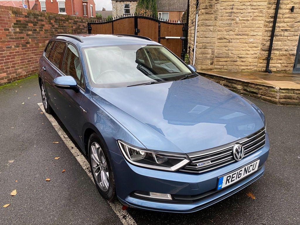 Volkswagen Passat Estate 1.6 TDI BlueMotion Tech BlueMotion (s/s) 5dr