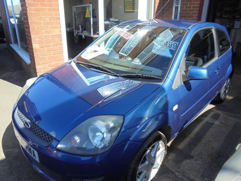 Ford Fiesta Hatchback 1.4 Zetec Blue Edition 3dr