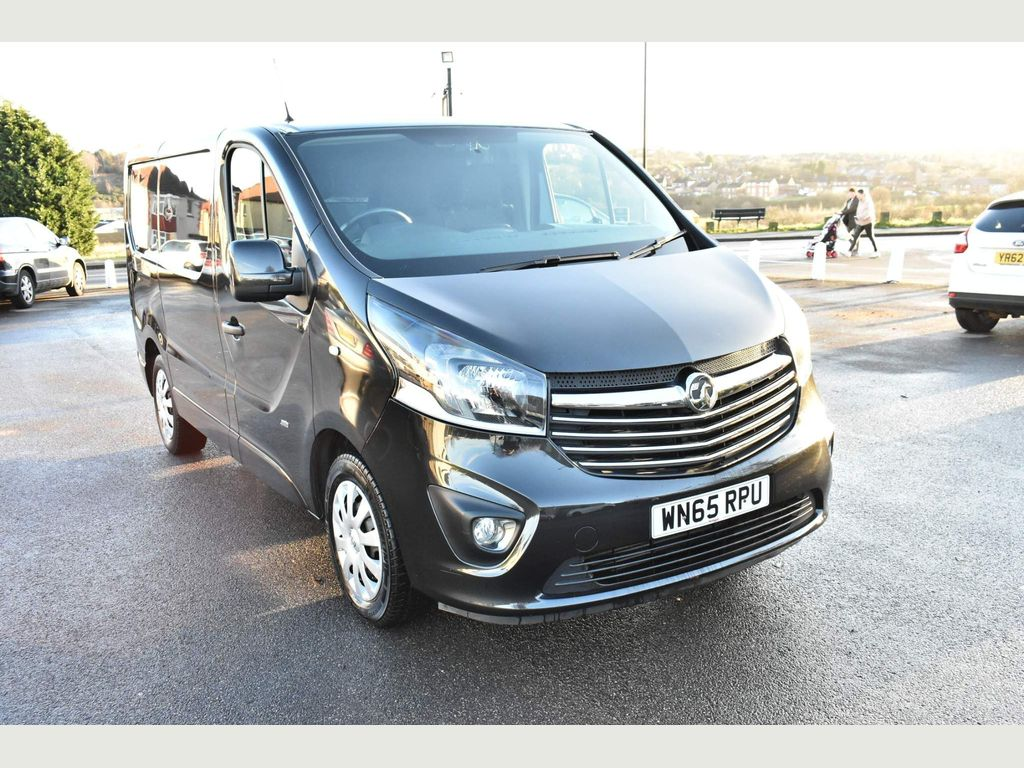 Vauxhall Vivaro Panel Van 1.6 CDTi 2700 BiTurbo ecoFLEX Sportive L1 H1 EU5 (s/s) 5dr