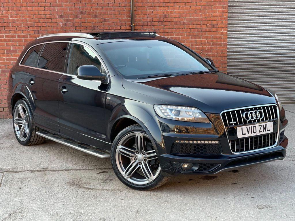 Audi Q7 SUV 3.0 TDI V6 S line Tiptronic quattro 5dr