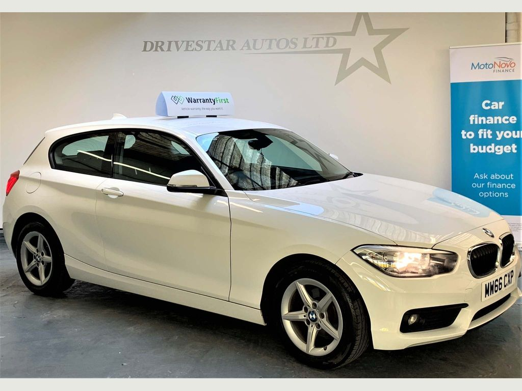 BMW 1 Series Hatchback 1.5 116d SE (s/s) 3dr