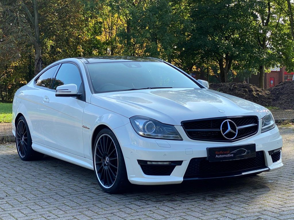 Mercedes-Benz C Class Coupe 6.3 C63 AMG MCT 7S 2dr (COMAND)