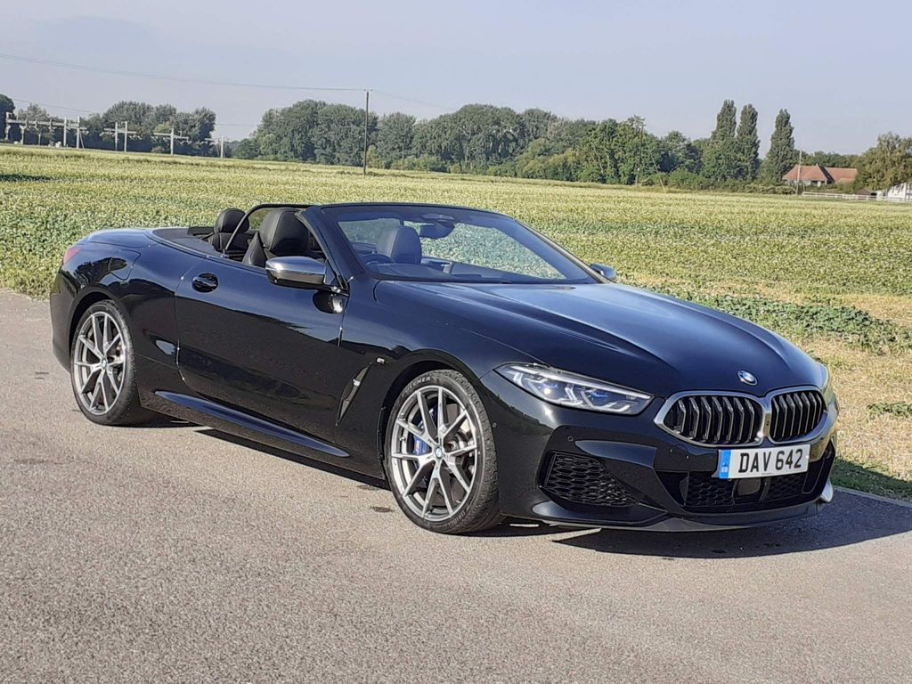 BMW 8 Series Convertible 4.4 M850i V8 Steptronic xDrive (s/s) 2dr