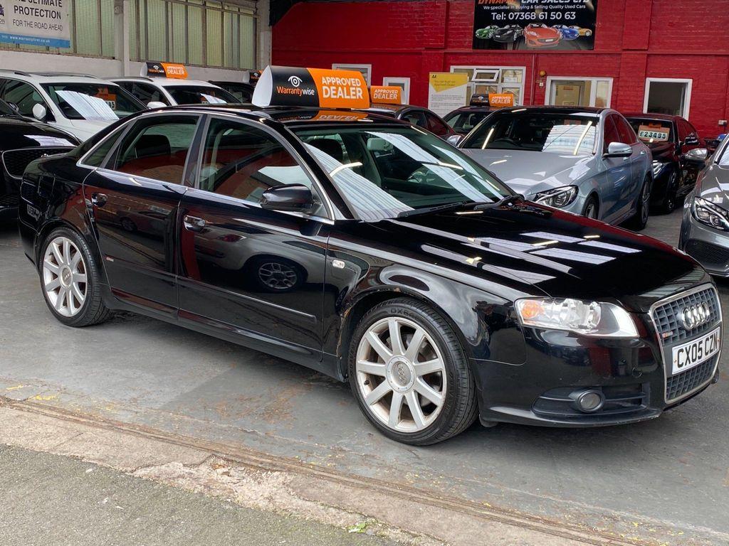 Audi A4 Saloon 3.0 TDI S line quattro 4dr