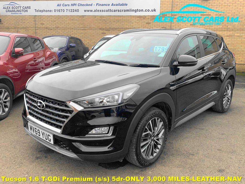 Hyundai Tucson SUV 1.6 T-GDi Premium (s/s) 5dr