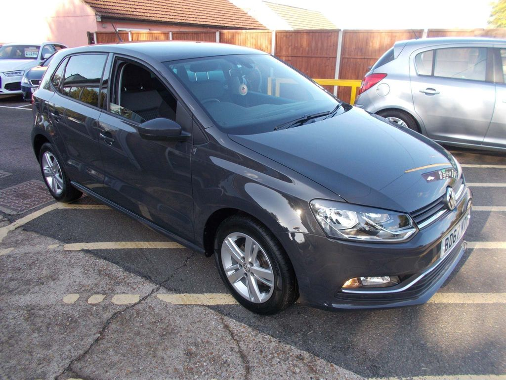 Volkswagen Polo Hatchback 1.2 TSI Match Edition (s/s) 5dr