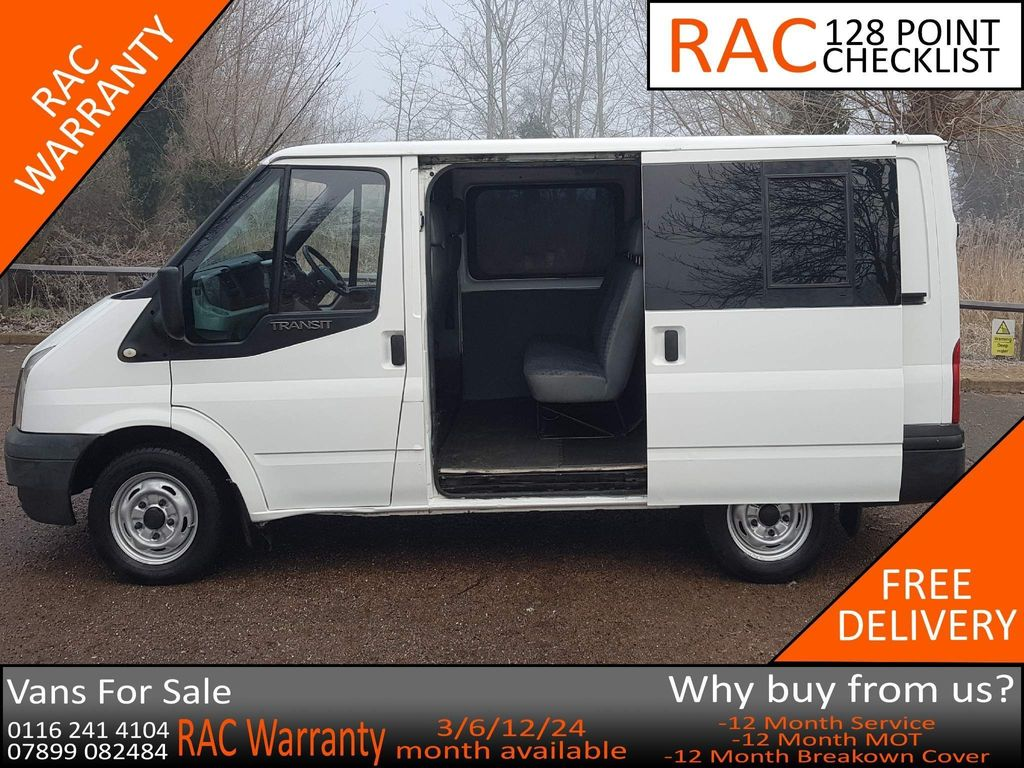 Ford Transit Other 2.2 TDCi 280 Double Cab-in-Van S 5dr (EU5, SWB)