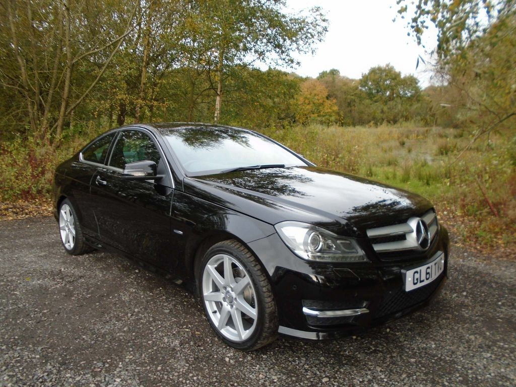 Mercedes-Benz C Class Coupe 1.8 C180 BlueEFFICIENCY AMG Sport Edition 125 7G-Tronic 2dr