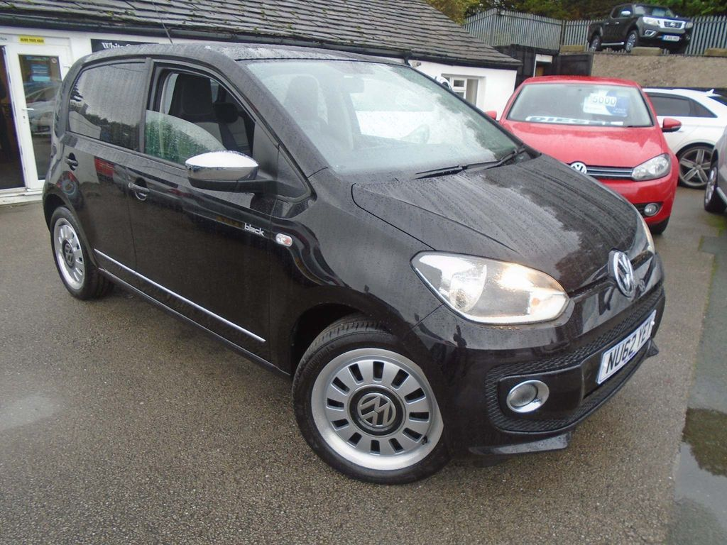 Volkswagen up! Hatchback 1.0 Up! Black 5dr