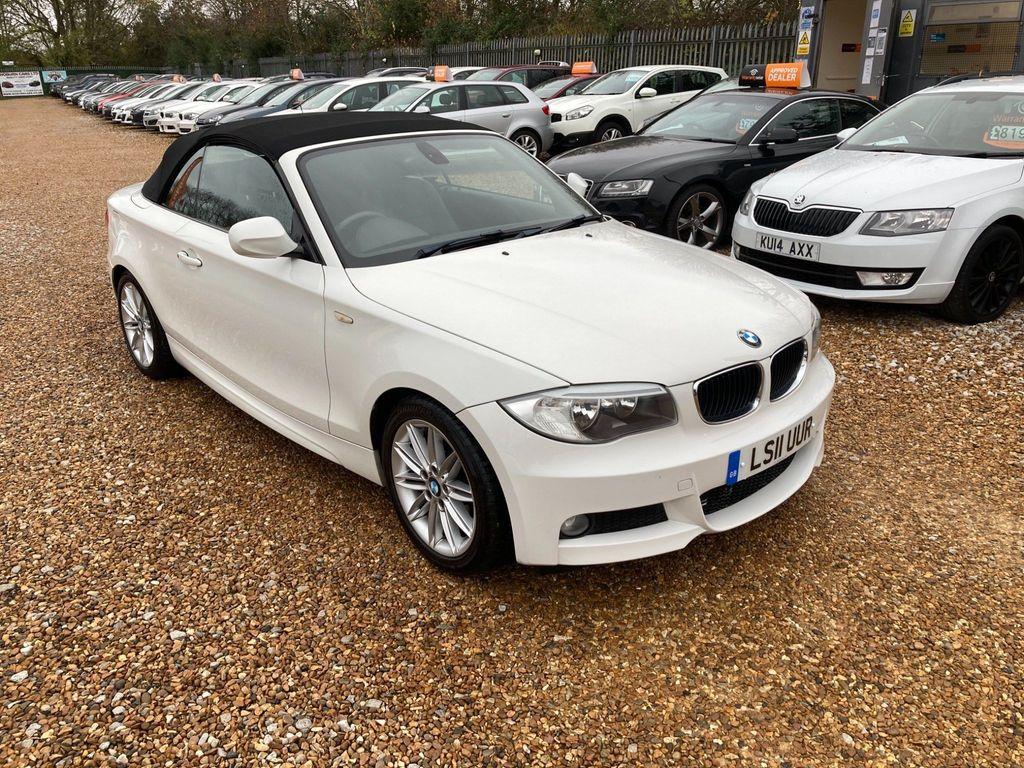 BMW 1 Series Convertible 2.0 118d M Sport Auto 2dr