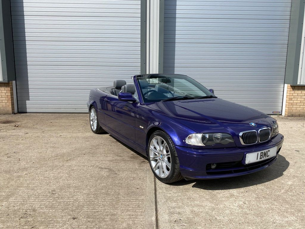 BMW 3 Series Convertible 2.5 325Ci Sport 2dr