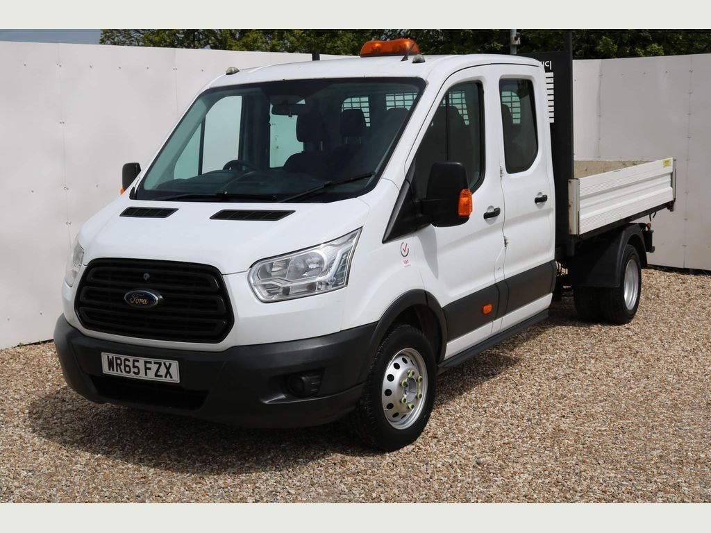 Ford Transit Chassis Cab 2.2 TDCi 350 Double Cab Chassis Cab RWD L3 H1 EU5 4dr (DRW)