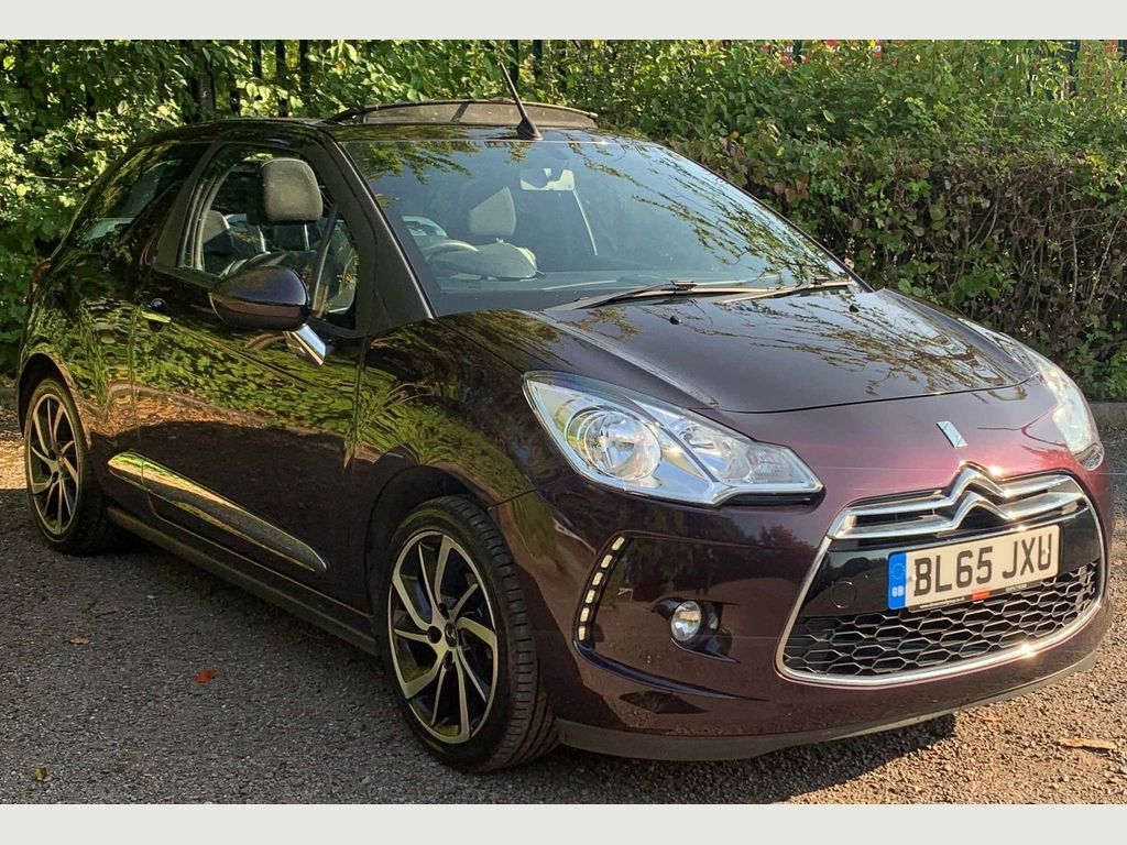 DS AUTOMOBILES DS 3 CABRIO Convertible 1.6 BlueHDi DStyle Nav Cabriolet (s/s) 2dr