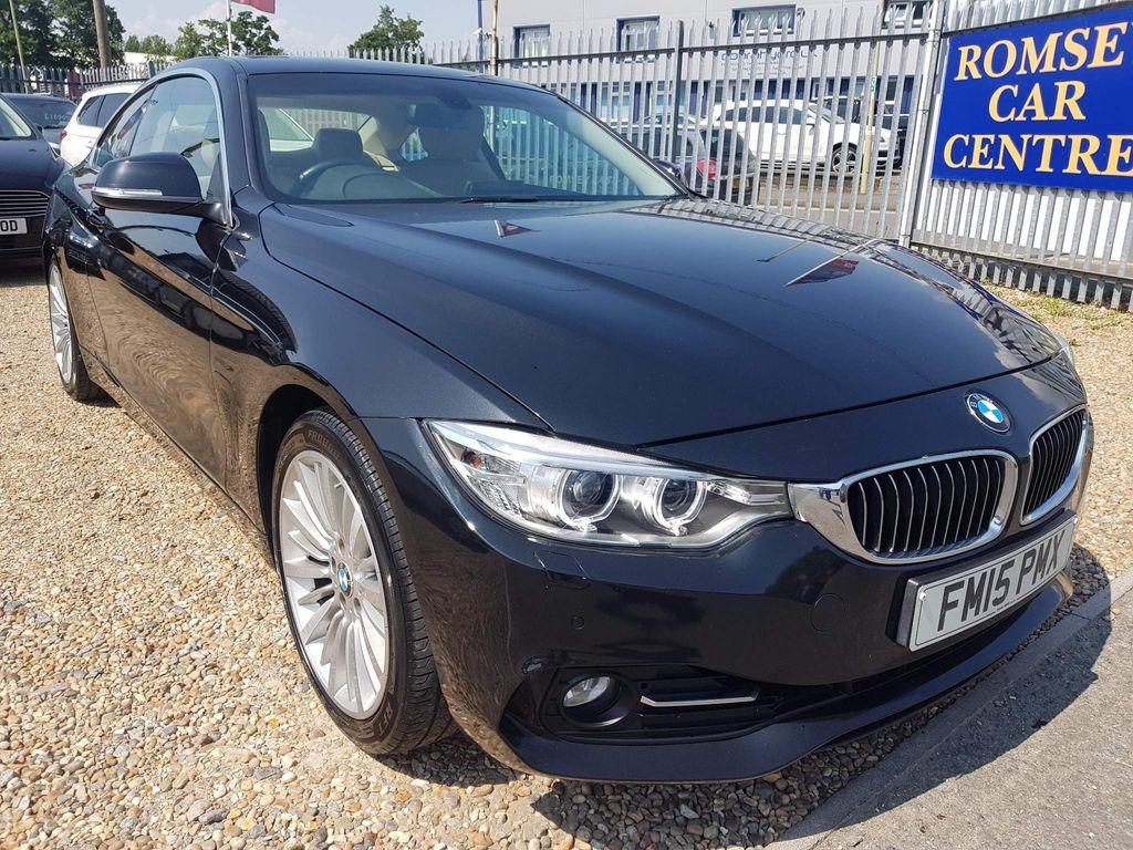 BMW 4 Series Coupe 2.0 420i Luxury Auto (s/s) 2dr