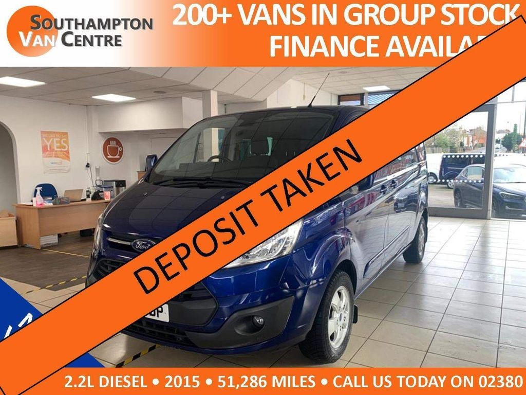 Ford Transit Custom Combi Van 2.2 TDCi 290 Limited Double Cab-in-Van L2 H1 6dr