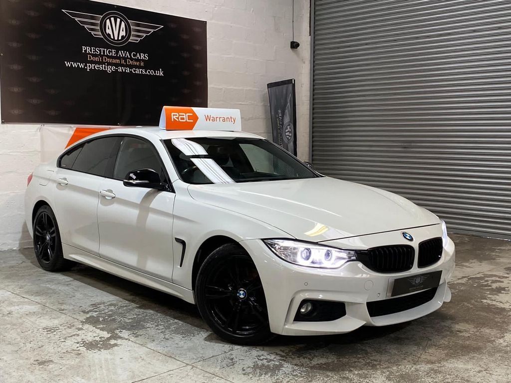 BMW 4 Series Gran Coupe Hatchback 2.0 418d M Sport Gran Coupe (s/s) 5dr