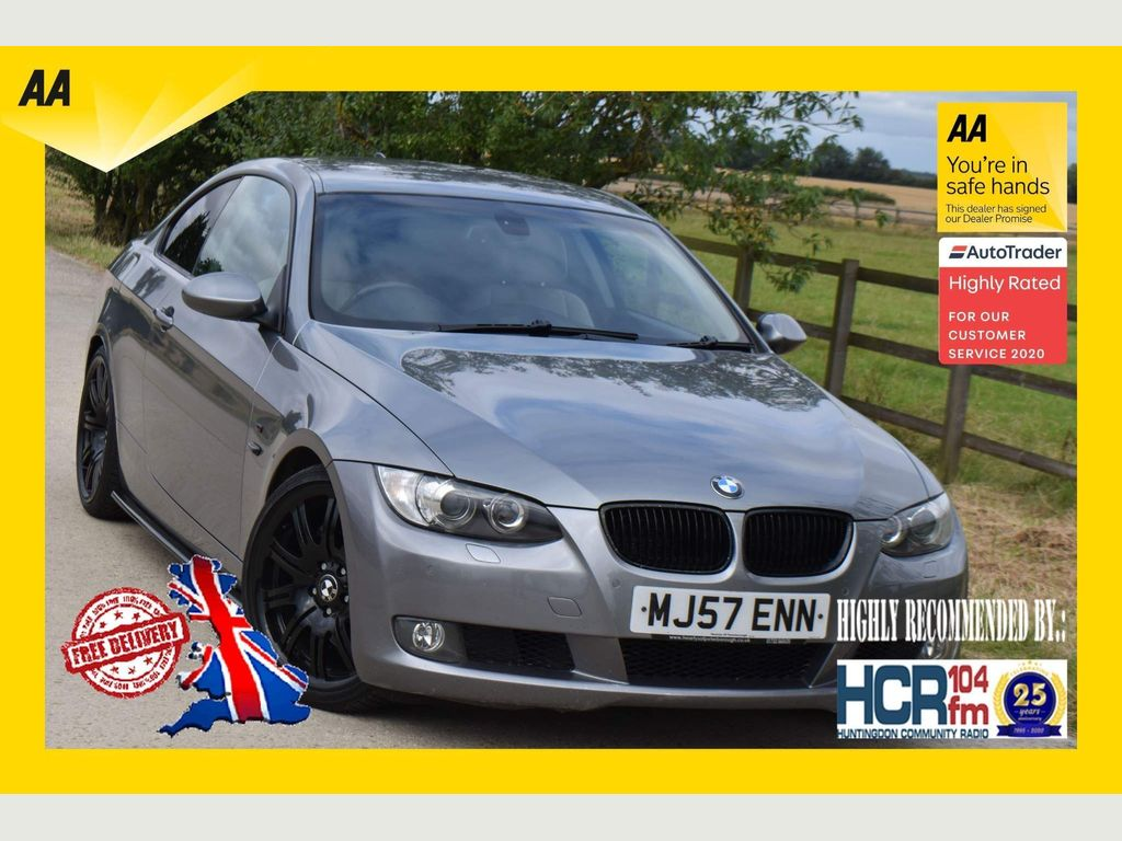 BMW 3 Series Coupe 3.0 335d SE 2dr