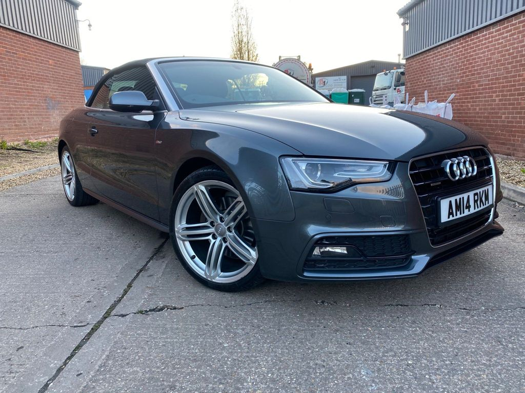 Audi A5 Cabriolet Convertible 3.0 TDI S line Special Edition Cabriolet S Tronic quattro 2dr