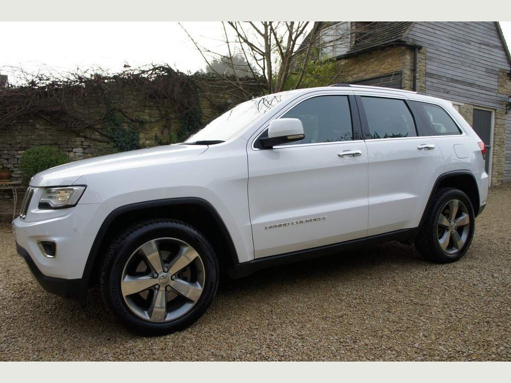 Jeep Grand Cherokee SUV 3.0 CRD Limited Plus Auto 4WD 5dr