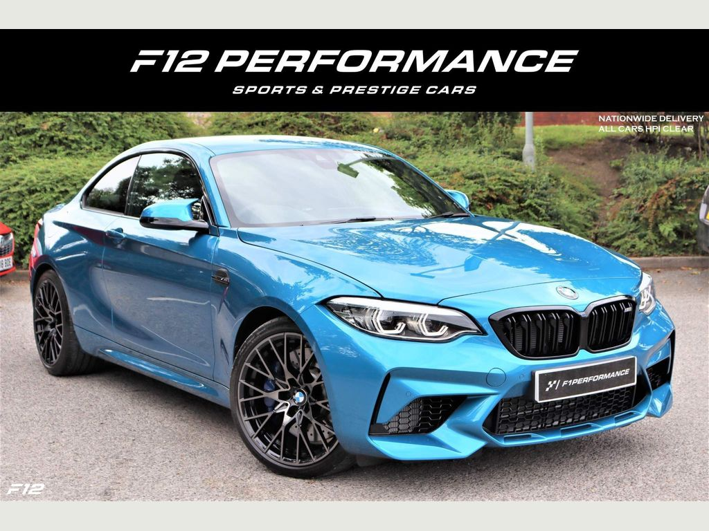 BMW M2 Coupe 3.0 BiTurbo Competition DCT (s/s) 2dr