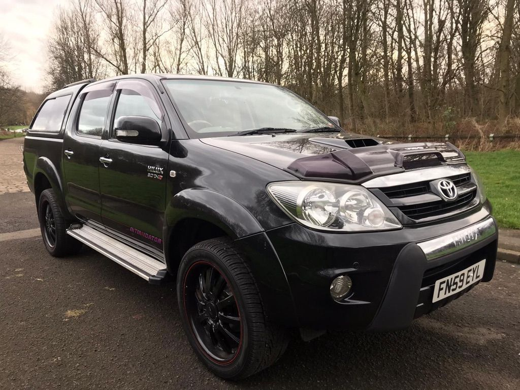 Toyota Hilux SUV 3.0 D4D AUTO INTIMIDATOR 'G'DOUBLE CAB