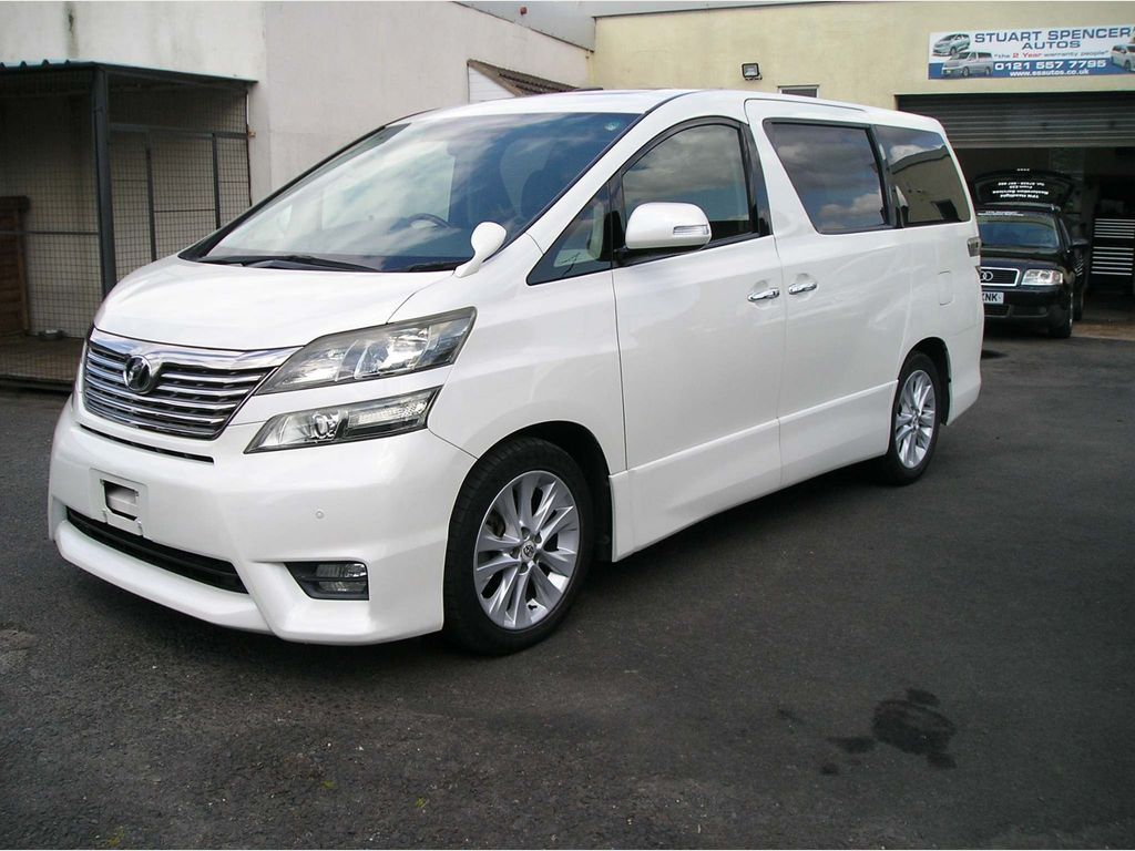 Toyota Vellfire MPV 3.5Z 6 Speed auto, ULEZ friendly
