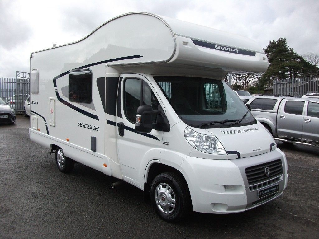 Fiat DUCATO 33 C/C MULTIJET Motorhome Swift escape 624