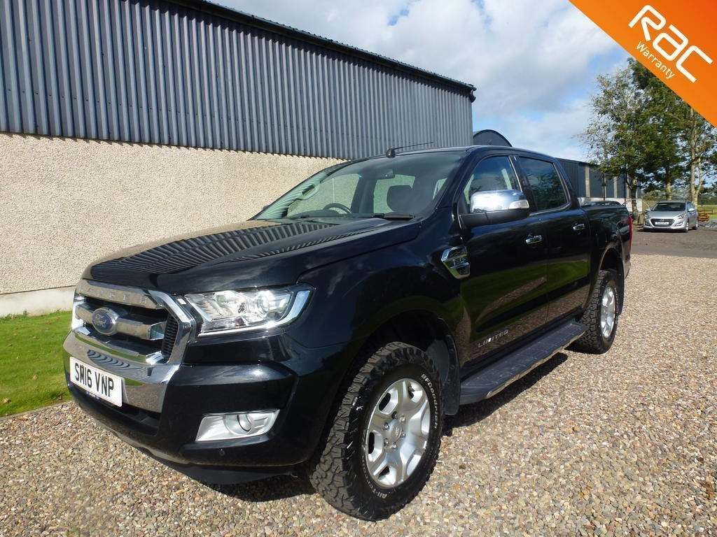 FORD RANGER Pickup 2.2 TDCi Limited 1 Super Cab Pickup 4WD 4dr