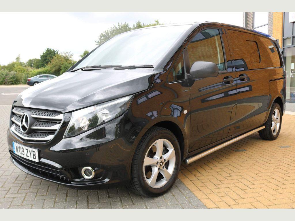 Mercedes-Benz Vito Combi Van 2.1 119 CDi BlueTEC Sport Crew Van G-Tronic+ RWD L1 EU6 (s/s) 5dr