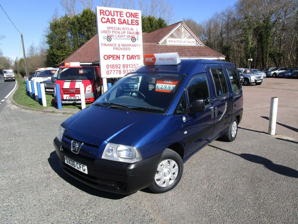 Peugeot Expert Specialist Vehicle Expert disabled/mobilty adapted 1.9d