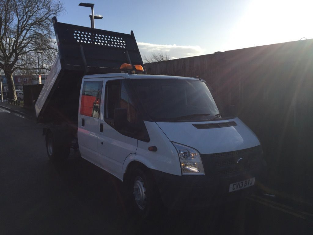 Ford Transit Tipper double cab tipper