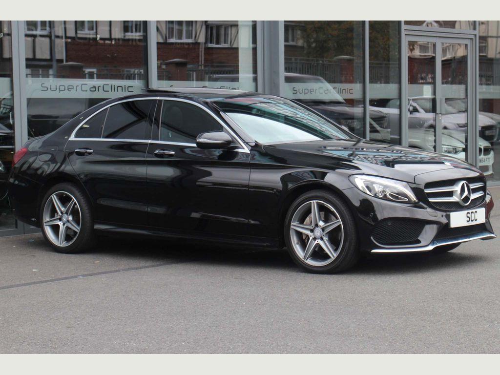 Mercedes-Benz C Class Saloon 2.1 C220d AMG Line (Premium) G-Tronic+ 4MATIC (s/s) 4dr