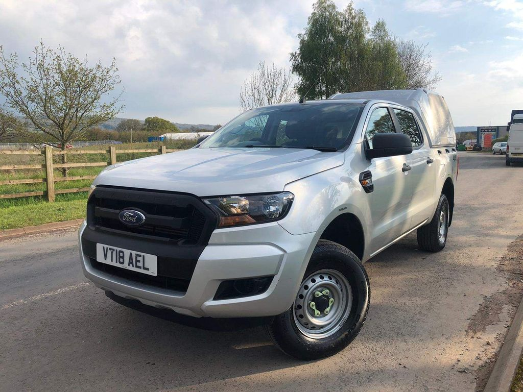 Ford Ranger Pickup 2.2 TDCi XL Double Cab Pickup 4WD (s/s) 4dr (Eco Axle, AC)