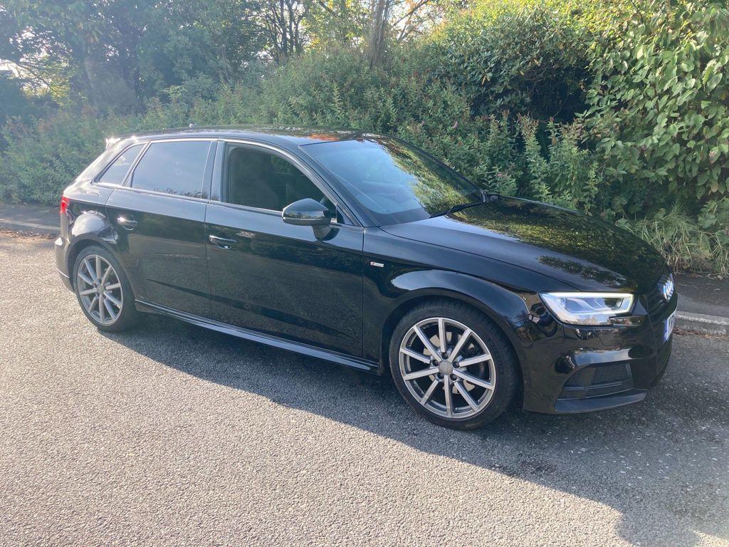 Audi A3 Hatchback 2.0 TFSI Black Edition Sportback (s/s) 5dr