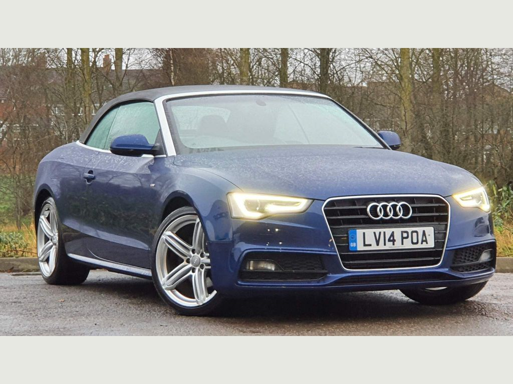 Audi A5 Cabriolet Convertible 1.8 TFSI S line Special Edition Cabriolet Multitronic 2dr