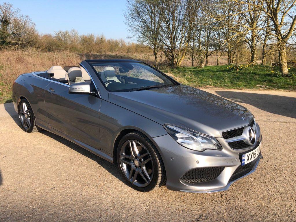 Mercedes-Benz E Class Convertible 2.1 E220 TD CDI BlueTEC AMG Line Cabriolet 7G-Tronic Plus 2dr