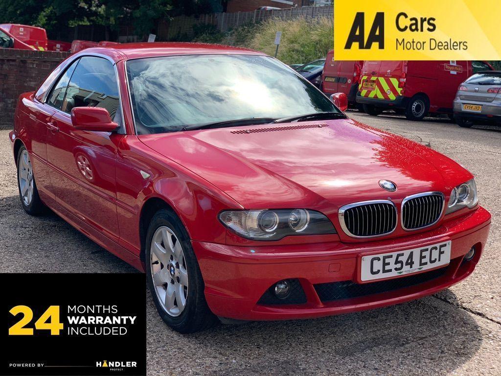 BMW 3 Series Convertible 2.5 325Ci SE 2dr
