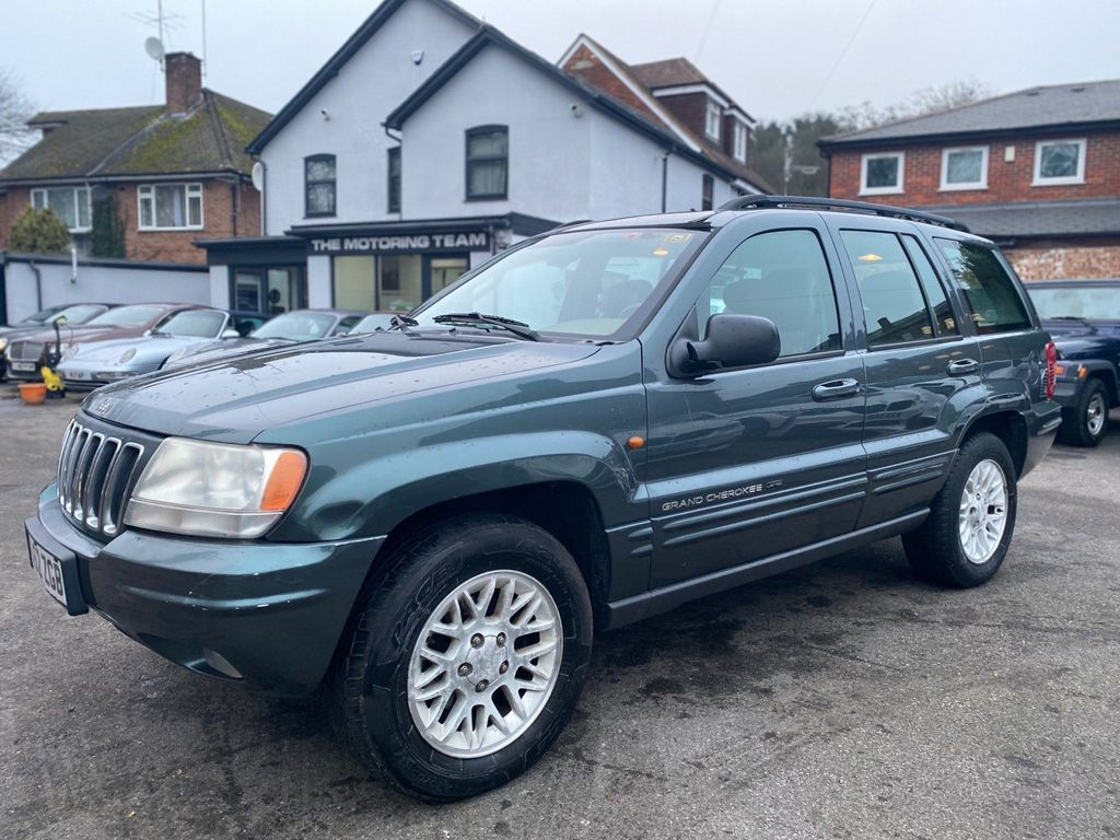 Jeep Grand Cherokee SUV LIMITED 4.0 AUTOMATIC 2WD